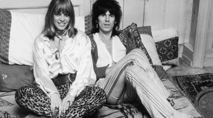 Anita Pallenberg y Keith Richards