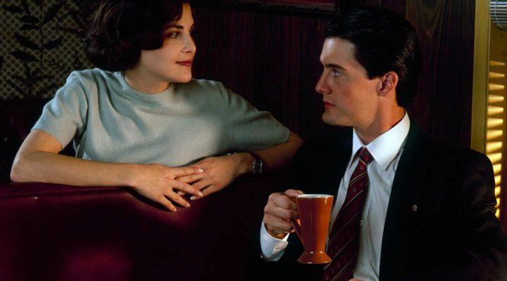 Kyle MacLachlan y Audrey Horne en 'Twin Peaks'