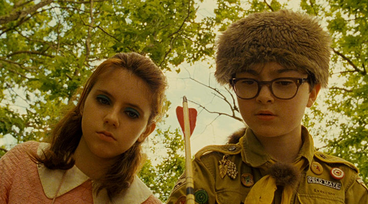 Fotograma de 'Moonrise Kingdom'