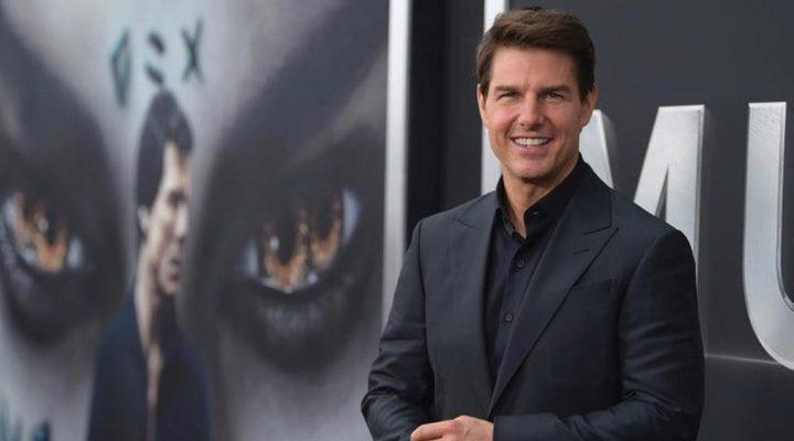 Tom Cruise en la premire de 'La Momia' en Manhattan