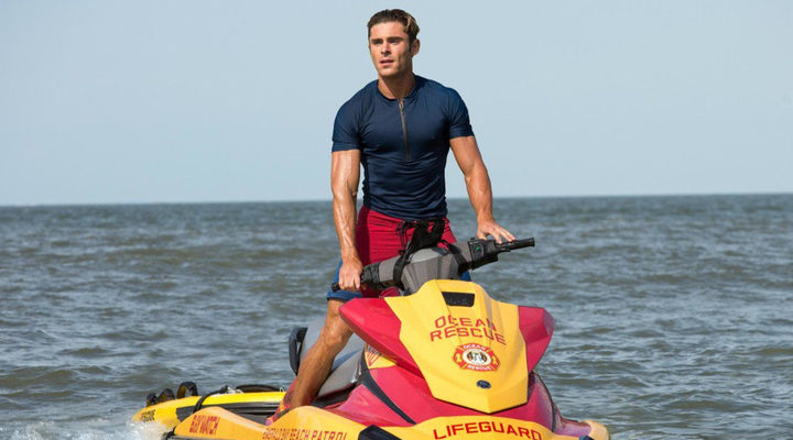 Zac Efron en 'Baywatch'