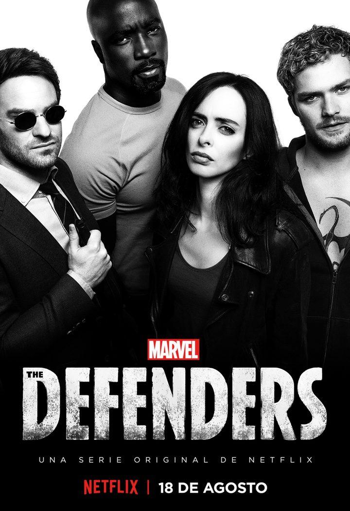 Póster oficial de 'The Defenders'