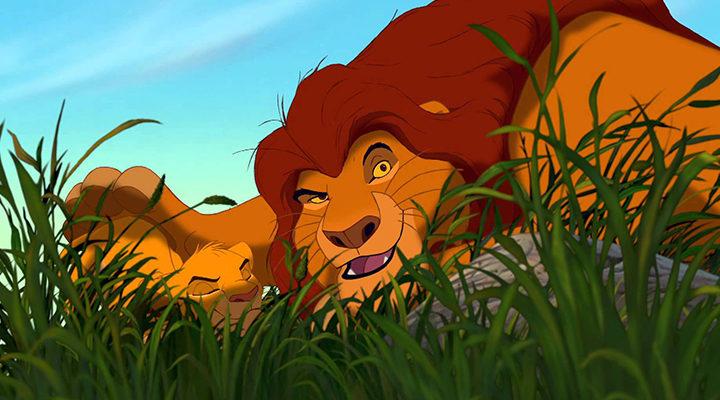 Fotograma de 'El rey león'