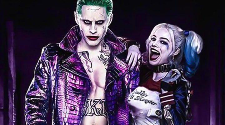 El joker de Jared Leto y Harley Quinn de Margot Robbie