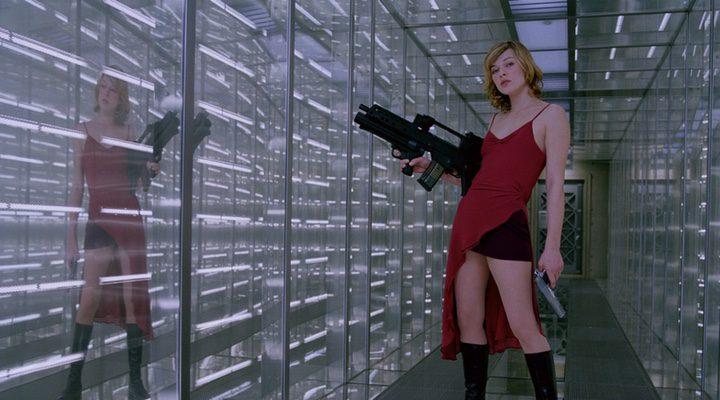 Milla Jovovich en 'Resident Evil' (2002)