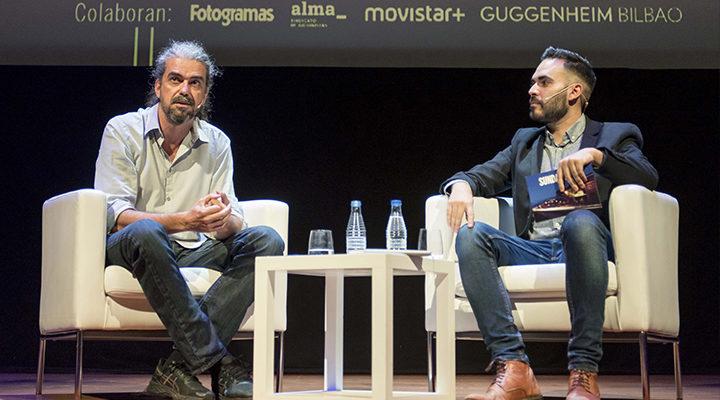Fernando León de Aranoa junto a David Martos