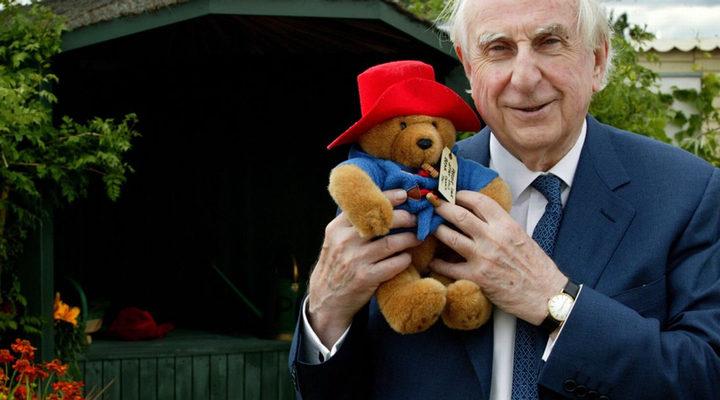 Michael Bond, creador de los los libros infantiles del 'Oso Paddington'