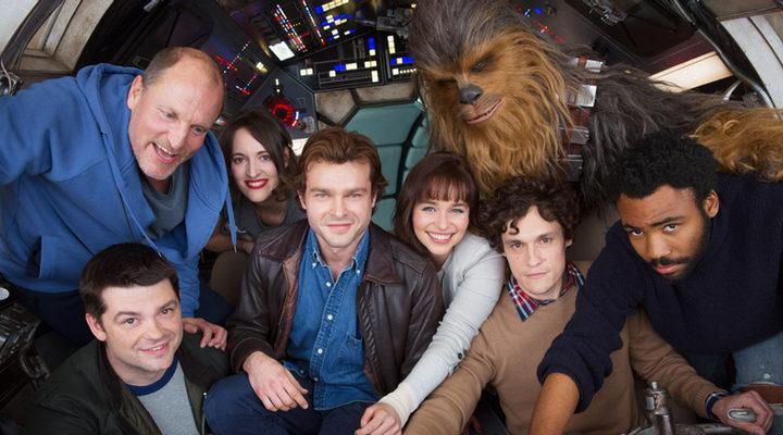El equipo del spin-off de Han Solo antes del despido de Phil Lord y Christopher Miller