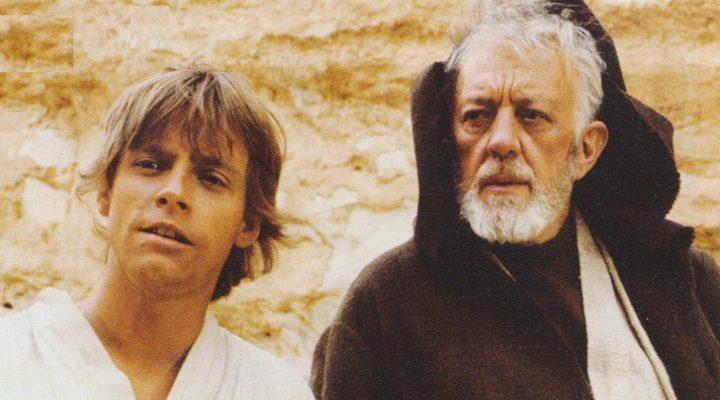Obi Wan y Luke Skywalker