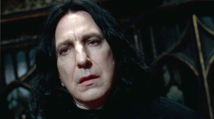 Alan Rickman en 'Harry Potter'