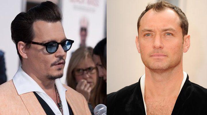 Johnny Depp y Jude Law