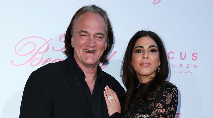 Quentin Tarantino y Danielle Pick