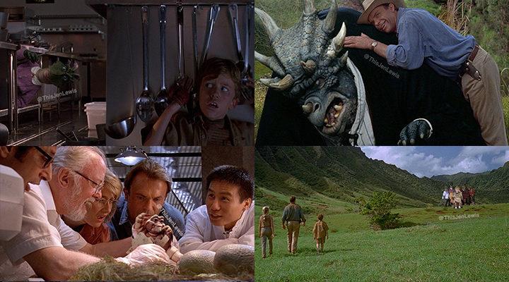 Jurassic Park por Jen Lewis
