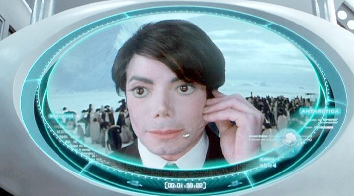 Michael Jackson en 'Men in Black II'