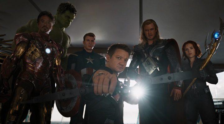 Robert Downey Jr., Mark Ruffalo, Chris Evans, Chris Hemsworth, Scarlett Johansson y Jeremy Renner