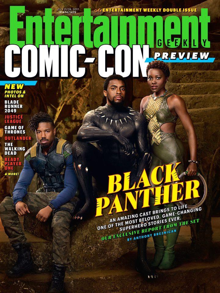 'Black Panther': Entertainment Weekly le dedica una edición especial con nuevas imágenes