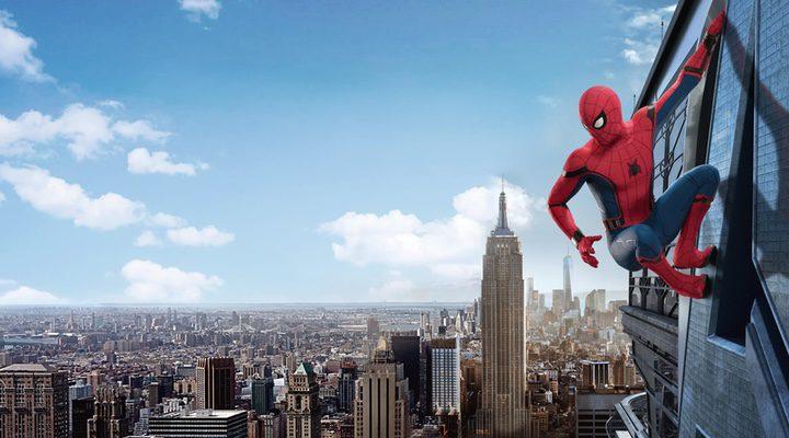 Tom Holland en 'Spider-Man:Homecoming'