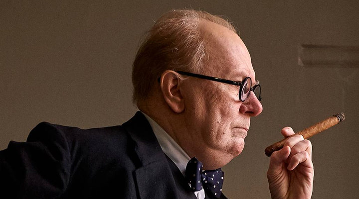 Gary Oldman interpreta a Winston Churchill en 'Darkest Hour'
