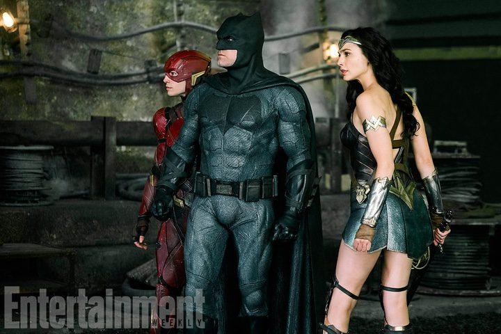 Flash Batman Wonder Woman