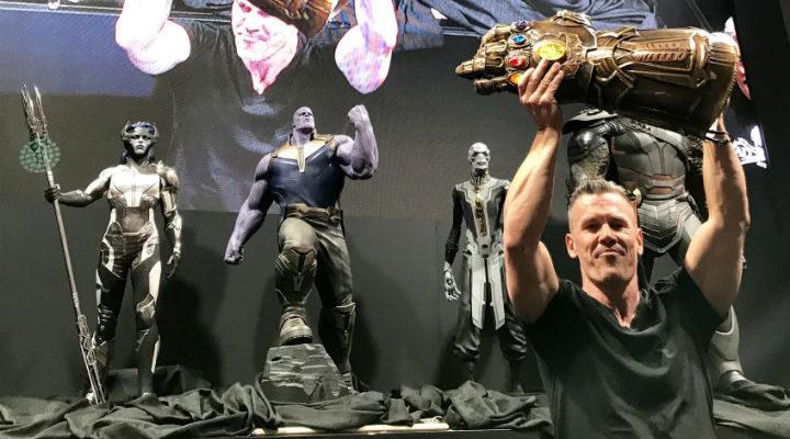 Josh Brolin (Thanos) frente a The Black Order