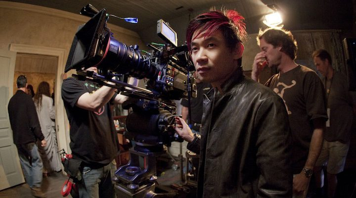 James Wan en el set de 'The Conjuring'