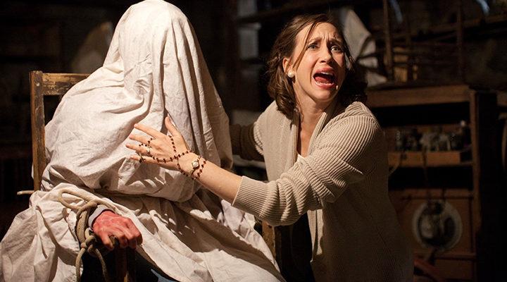 Vera Farmiga en 'The Conjuring'