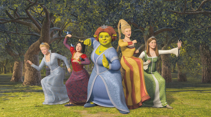 Princesas Shrek Tercero