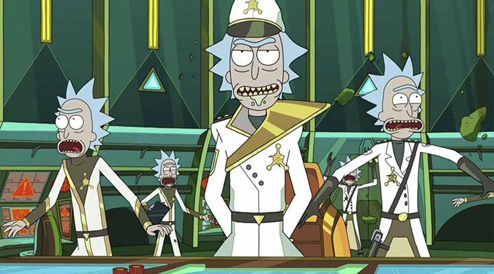 Rick y Morty\': La nueva promo es muy psicodélica - eCartelera