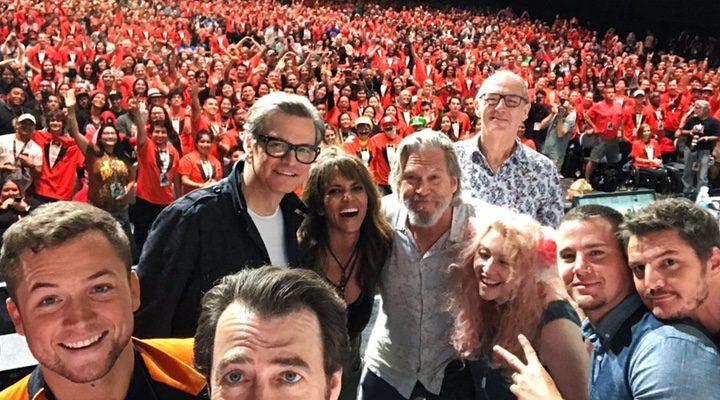 Kingsman: El círculo dorado en la Comic-Con 2017