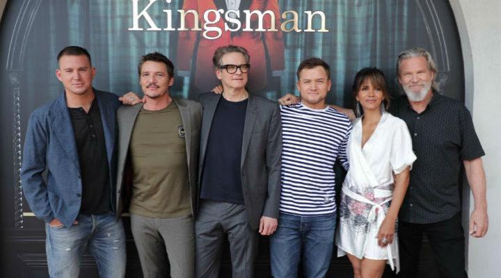 El reparto de 'Kingsman: El círculo de oro' en Comic-Con 2017