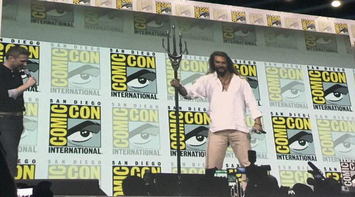 Jason Momoa en la Comic Con