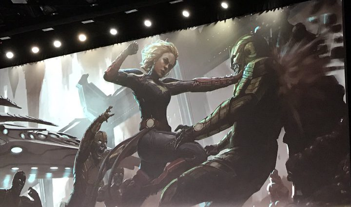 Concept Art 'Captain Marvel'