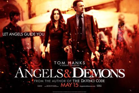 Otro cartel de 'Ángeles y demonios'