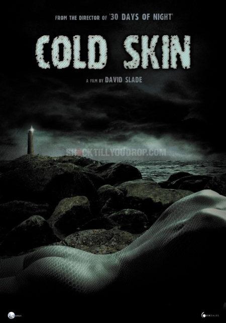 Primer cartel del 'Cold Skin'