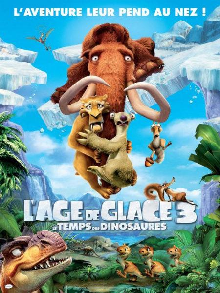 Cartel francés de 'Ice Age 3'