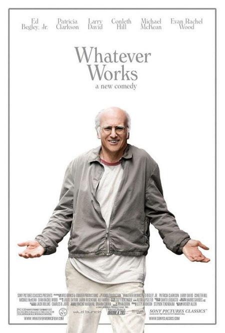 Primer cartel de 'Whatever Works'