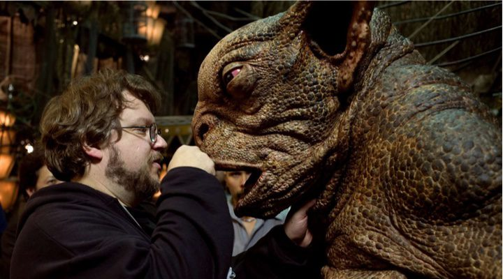 Guillermo del Toro en el set de su película 'The Shape of Water'