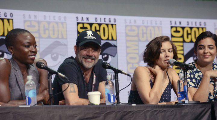 El cast de 'The Walking Dead' en la Comic-Con de San Diego 2017