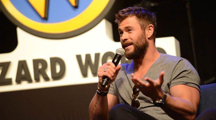 Chris Hemsworth en la Comic-Con de San Diego 2017