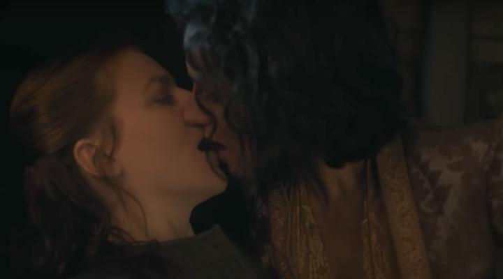 Beso Yara y Ellaria