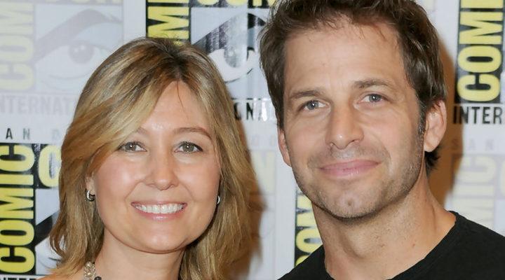 Deborah y Zack Snyder en la Comic-Con