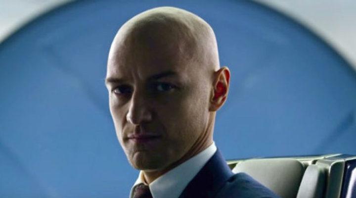 James McAvoy en 'X-Men: Apocalipsis'