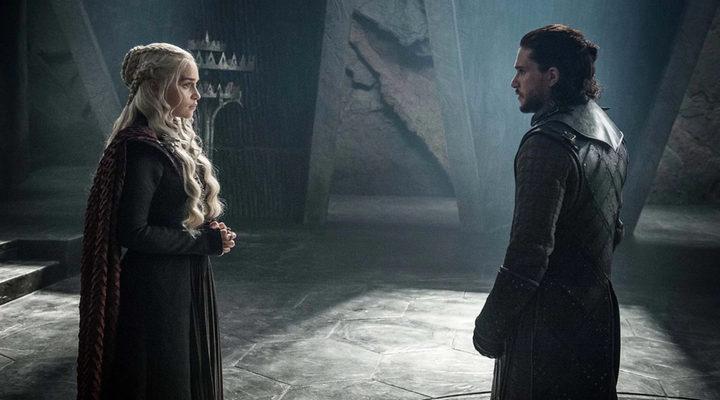 Jon y Daenerys mantienen un primer encuentro