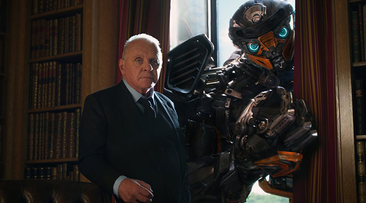 Anthony Hopkins en 'Transformers: El último caballero