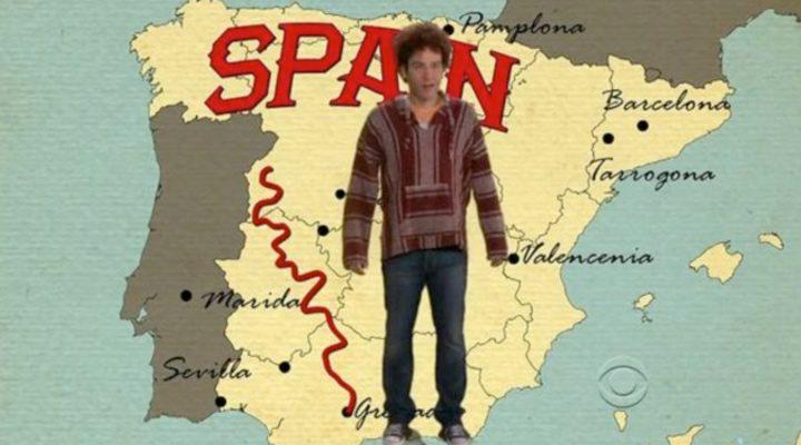 Ted Mosby hablando de España en 'Cómo conocí a vuestra madre'