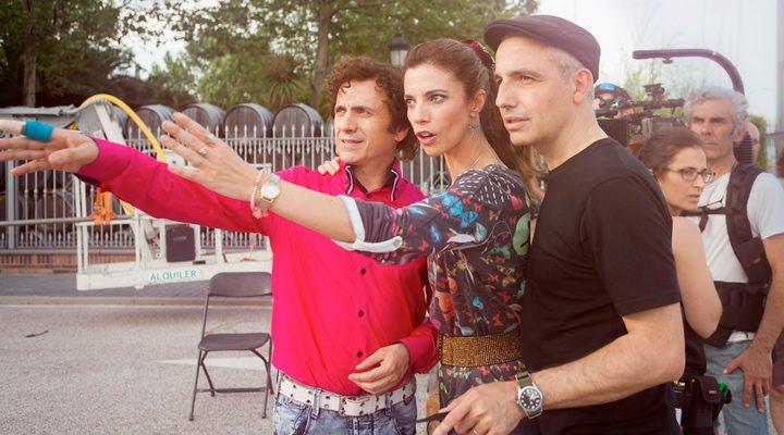 Rodaje de 'Abracadabra' con Pablo Berger