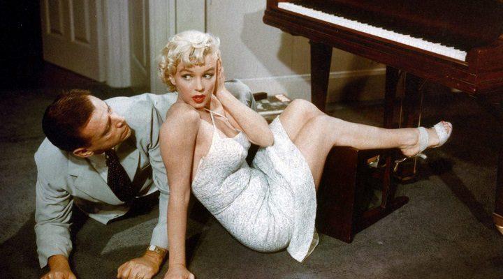 Marilyn Monroe en 'La tentación vive arriba0
