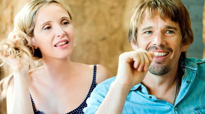 Ethan Hawke y Julie Delphy en 'Antes del anochecer'