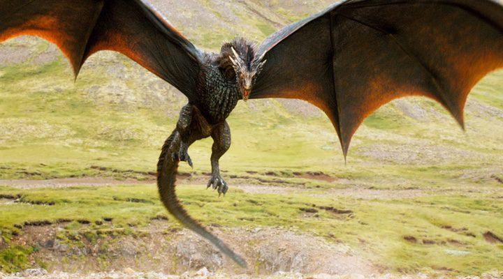 Drogon en 'Juego de Tronos'
