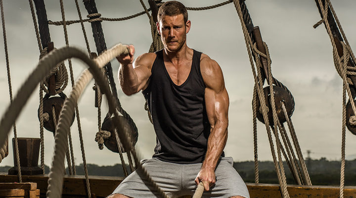 Tom Hopper en Black Sails